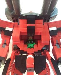 ZuOOt Open Cockpit (apelcatrox) Tags: lego gundam seed mobile suit zuoot zaft tank slug 2016
