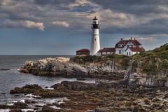 Portland Head Light (NYRBlue94) Tags: portland lighthouse light maine atlantic ocean new england hdr coast oceanscape outdoor