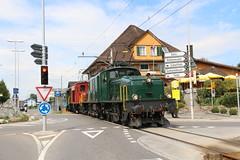 2016-09-03, CFF/HSTB/MECH/OeBB, Ballwil (Fototak) Tags: eisenbahn treno railway seetal switzerland sbbcffffs hstb mech oebb krokodil crocodile de66 be68iii 13302 15301