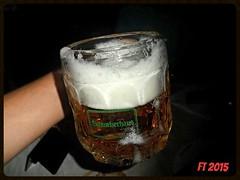 Drinking Beer in Vienna (triziofrancesco) Tags: beer birra alcool glass boccale mug schiuma