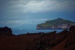 cross over (CoreForce) Tags: ferry lava ocean suurland island eldfell eyjafjallajkull elliaey