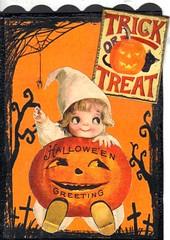 Halloween atc (bbsporty) Tags: swapbot atc halloween witch pumpkin