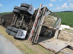Big-rig roll-over in Linkwood (LeafsHockeyFan) Tags: mvc vehicleaccident tractortrailer firedept fireengine fireapparatus fire rescue ems dorchestercounty linkwoodsalem 2016 bigrig rollover maryland police policecar msp statepolice statetrooper marylandstatepolice mardelaspringsfiredept cambridge rescuefireco eastnewmarket vienna hazmat