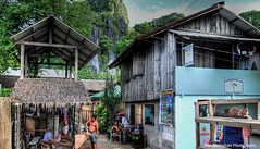 town of el nido in palawan (Rex Montalban Photography) Tags: rexmontalbanphotography philippines palawan town elnido hdr