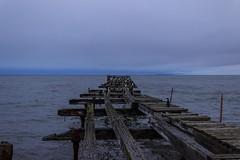 Punta Arenas (Medigore) Tags: punta arenas muelle medigore azul mar sea extremo
