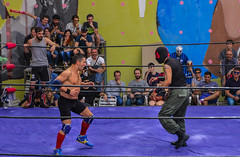 Mex Fight (Carlos Pea Fernandez) Tags: tex mex mexico lucha fight mma madrid espaa plaza cebada mercadillo rastro mascara luchadores fighter