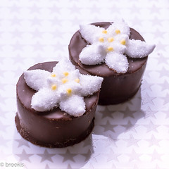 Edelweiss - Edelweiss (brookis-photography) Tags: sweetspotsquared macromondays pralines sweet edelweiss sugar chocolate marzipan