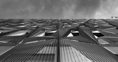 Metalique Structure (xpressx) Tags: nikon blanc abstract 18105 passionphotonikon 18105mm bw wb photographe noir archi noiretblanc d7100 exposure nikond7100 forme architecture bn nikkor lightroom white