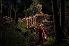 forgotten realms - lightpainting (Ralph Oechsle) Tags: lightpainting paintwithlight malenmitlicht fantasy mystic secret secretplace adventure explore ruin castle castleruin night guard worldwanderer weltenwanderer medieval magic