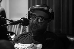 DJ Rashad fly on the Wall (Brotha Kristufar) Tags: portrait portraits portraiture monochrome black white canon studio hip hop culture nyc harlem brooklyn uptown explore explored views profile work
