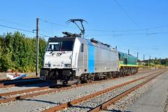 Rurtalbahn 186 425-5 + V271 @ Brugge (Maarten Schoubben) Tags: rurtalbahn cargo trainsport belgium belgi traxx bombardier locomotive br baureihe 186 4255 class 66 v271 pb18 pb 18 nikon d750 2470 rtb locomotief