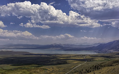 Mono Lake, CA (punahou77) Tags: easternsierra sierras sierranevada sky stevejordan california clouds mountain mountains monolake highway395 landscape landmark nature nikond7100 lake punahou77