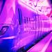 Purple train in motion [explored 2016-09-25]