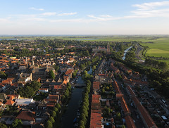 Monnickendam (3) (de kist) Tags: kap thenetherlands waterland monnickendam heritage aerial