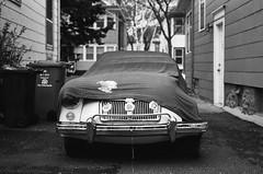 abandonment - XII (scurvy_knaves) Tags: filmphotography fujifilm britishcars vintage minnesota leica classic automotive leicamp bw mg automoto msp 50mmsummicronf2 minneapolis neopan400