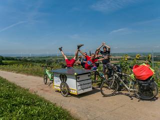 FahrradTour zum Klimacamp