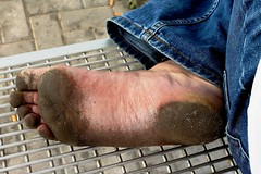 dirty city feet 120 (dirtyfeet6811) Tags: feet soles barefoot dirtyfeet dirtysoles blacksoles cityfeet