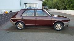 Fiat Ritmo Targa Oro 75 CL 1981 (ahellmann) Tags: fiat ritmo targa oro 75 cl1981 classic car youngtimer oldtimer classiche purble bordeaux red 179 strada