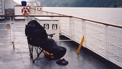 On the Queen of the North ferry departing from Prince Rupert a little too early for some passengers (albatz) Tags: sunrise earlymorning mountains bc queenofthenorth ferry departing princerupert
