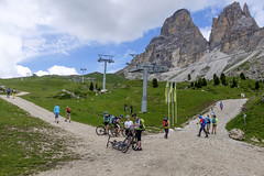 Trentino - Alto Adige (Italy) - Passo Sella (Massimo Battesini) Tags: nationalgeographic worldtrekker fujifilmxt1 fuji xt1 fujixt1 fujifilm finepix fujinon fujinonxf18135 fuji18135 fujifilmfujinonxf18135mmf3556rlmoiswr bicicletta vlo bicycle biciclettes bicicletas biciclette bike bikes montagna montagne dolomiti mountains montaas berg dolomite dolomitas dolomites selvadivalgardena trentinoaltoadige italia it italy italie italien europa europe passosella sassolungo valgardena valdifassa