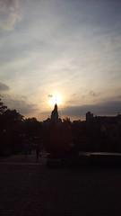 192/365 Aureole (zinushana) Tags: projectlife project project365 church glow sun    365