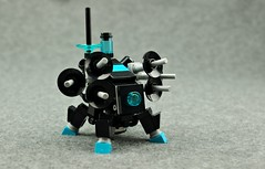 The Suitor (Deltassius) Tags: ijad space alien lego frame mech mecha robot war military mf0 mfz mobile zero scrambler
