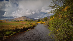 Riverfoot...  Glenelg.. (Harleynik Rides Again.) Tags: riverfoot glenelg scotland westcoast heather highlands river burn sky mountain landscape nikondf harleynikridesagain allrightsreserved