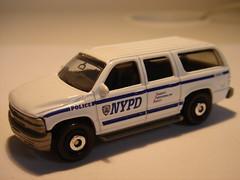 MATCHBOX 2000 CHEVROLET SUBURBAN NO6 NYPD VEHICLE 1/64 (ambassador84 OVER 7 MILLION VIEWS. :-)) Tags: matchbox 2000chevroletsuburban diecast nypd