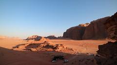 IMG_1898 (sheepman) Tags: wadirum jeep sunset