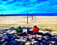 Last beach days for the season... (Dennis Sparks) Tags: michigan ludington color beach lakemichigan canonpowershots120