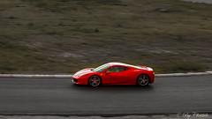 Ferrari 458 Italia (christelerousset) Tags: rouge ferrari f458italia fil circuit vitesse dplacement bordeauxmrignac bordeaux sudouest aquitaine