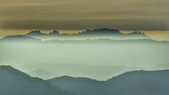 Montserrat des del Montseny. (JESS PUIGMART i SNCHEZ) Tags: catalunya montserrat montseny barcelona landscape