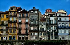 La vida en color (chemakayser) Tags: ribeira portugal oporto porto houses