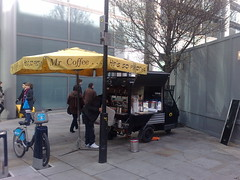 London, UK (BuonCuore) Tags: street food coffee car truck snacks van cart sales vending olsen concession grumman foodtruck stepvan streetsales