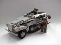 Sd.Kfz. 251 v.3 (McJakub) Tags: world war lego wwii mg sd german ww2 minifigs moc kfz mg42 halftruck mcjakub wechrmacht