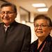 Navajo President Ben Shelly and First Lady Martha Shelly. Navajo Nation Inaugural Reception. Jan. 20, 2013. Photo by Megan Witt.