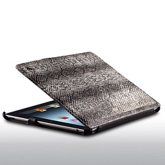 Cool Black Snake Texture Folio Case for iPad 4 (greenajoy) Tags: cute men fashion stand cool women folio durable ultrathin freeshipping stylsih hotselling snaketexture ipad4case blackcaseforipad4 snaketexturecaseforipad4