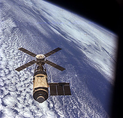 Skylab in Orbit (NASA Archive, 11/16/73) (NASA's Marshall Space Flight Center) Tags: nasa astronauts skylab spacestation 1973 marshallspaceflightcenter finalmission