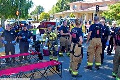 3 Alarm Cupertino Fire damages 3 separate houses (YFD) Tags: california usa alarm canon fire action 911 firetruck cupertino emergency ems firedepartment rehab santaclaracounty 3alarm eos7d sccfd
