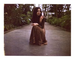 (universal76) Tags: camera england colour london film polaroid photoshoot land epson 690 expired 450 glasshouse muted v500
