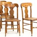 119. Set of Four American Classical Country Dining Chairs