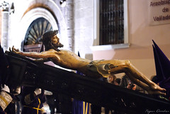 Ante el Arzobisp de Vallado (Reyes Arribas) Tags: valladolid cristo semanasanta 2012 crucificado