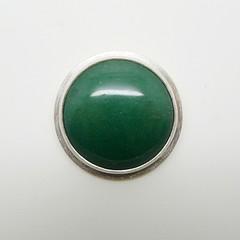 Inbar Bareket BAD 36/365 (inbarbareket) Tags: green pin brooch jewelry aventurine sterlingsilver finesilver etsymetalteam inbarbareket bad36 bad36365