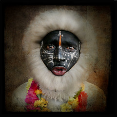 About Hanuman (designldg) Tags: portrait people india square photography symbol expression dream culture makeup soul hanuman actor imagination entertainer spiritual shanti gurgaon performer dharma chiaroscuro clairobscur rajasthani indiasong  kingdomofdreams panasonicdmcfz18