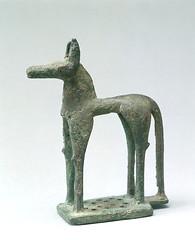 Cheval style Sparte  - Muse du Louvre (M. Agrippa) Tags: bronze cheval style grece sanctuaire gomtrique olympie archaique rcent