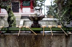Basin Around Chionin (francisling) Tags: japan temple kyoto sink bamboo basin    chionin
