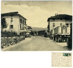 Roncegno Terme, loc. Marter, 1953 (Ecomuseo Valsugana | Croxarie) Tags: cartolina 1953 marter roncegno sittoni roncegnoterme croxarie giuseppesittoni scramoncin