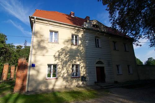 Budynek kancelarii gospodarczej w zespole klasztoru cystersów w Kamieńcu Ząbkowickim