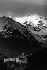 Minas Tirith (MilleLuci) Tags: light bw white mountain snow black lord rings neve campo alto castello montagna bianco nero luce castel adige signore anelli tures
