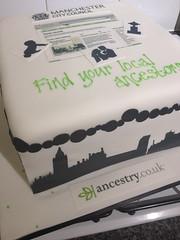 Ancestry.co.uk Cake